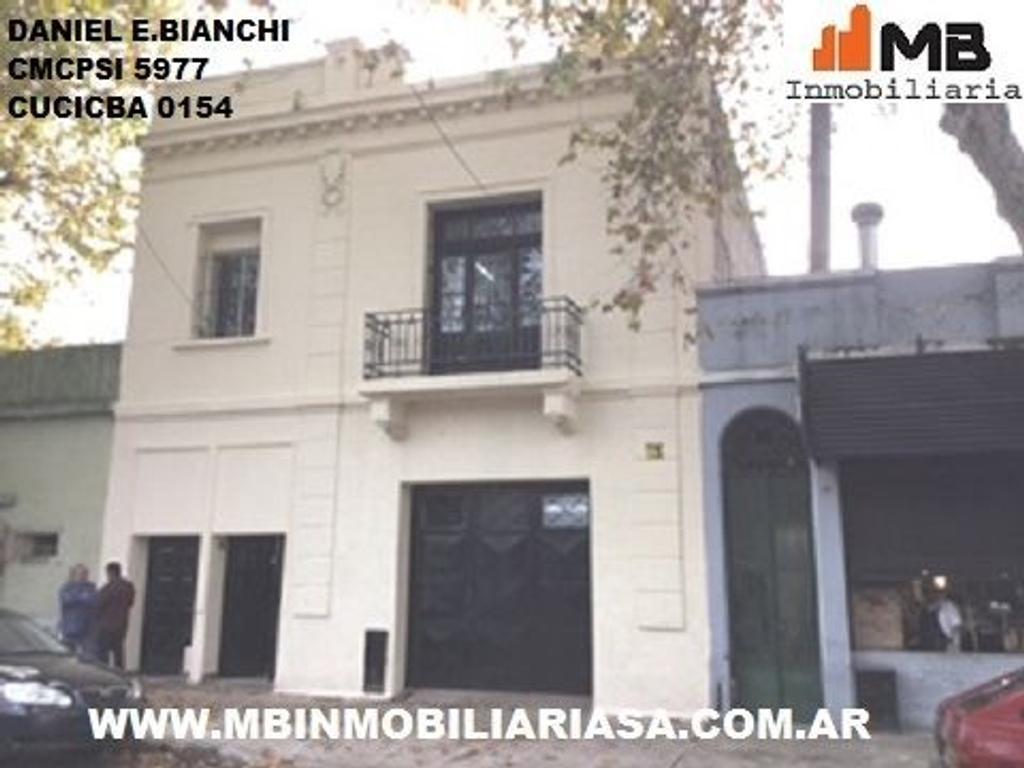 Barracas venta casa con galpon en Santa Maria al 800