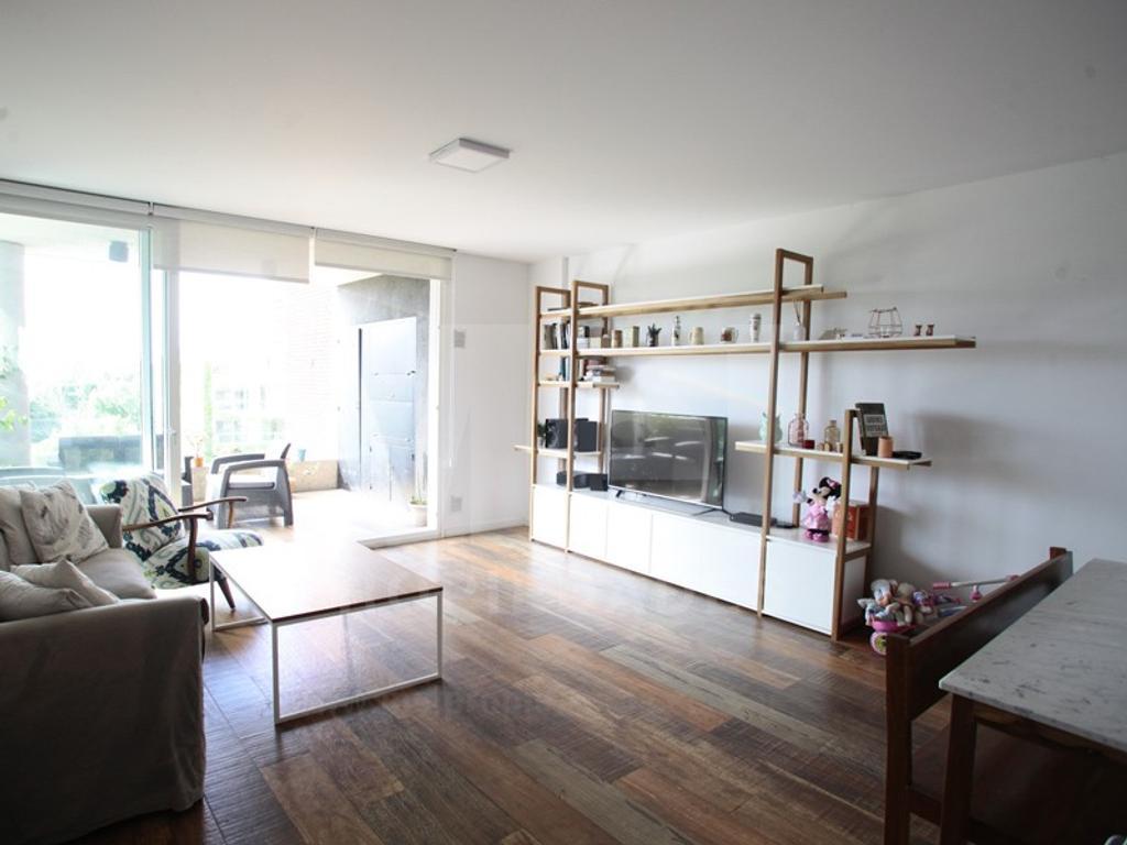 Exc 3 amb con cochera, 2 dormitorios en suite, toilette, balcón con parrilla, lavadero. Amenities