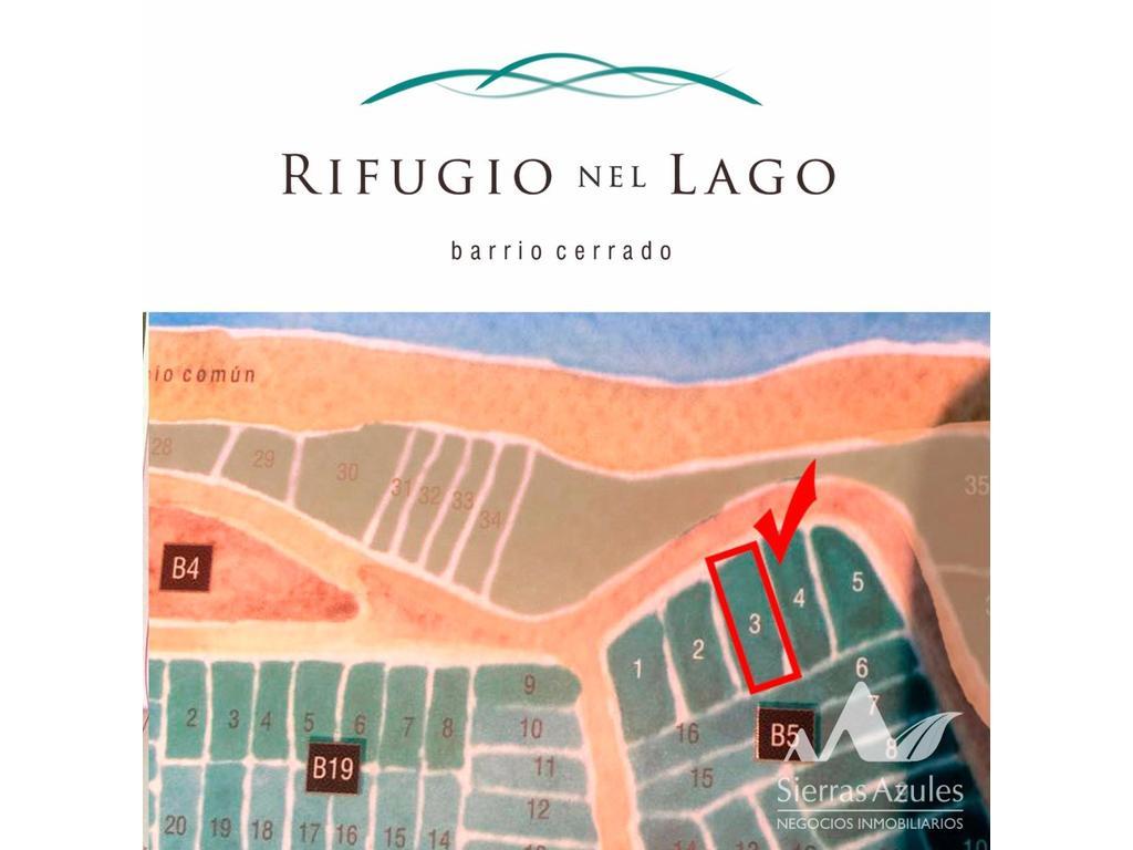 VENTA O PERMUTA. Rifugio nel Lago, Terreno frente al lago. La Florida,San Luis-Argentina