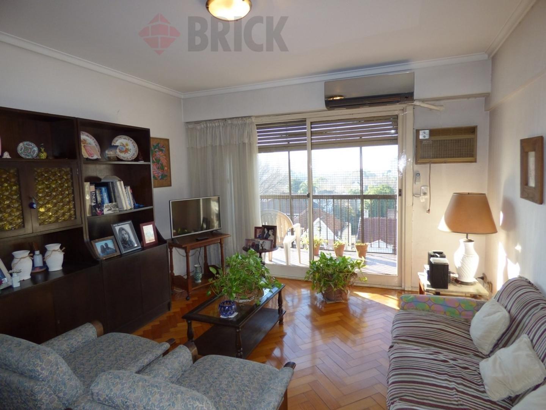 Departamento - 76 m² | 3 dormitorios | Frente