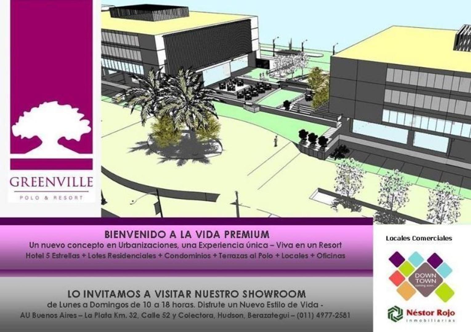 Locales Comerciales en Venta - Greenville Polo & Resort - Hudson