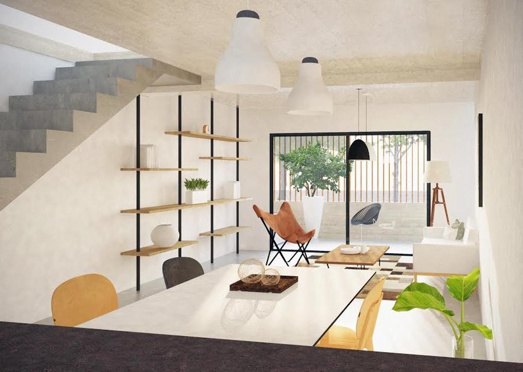 DUPLEX de tres ambientes con patio. Unico. Entrega 2018.