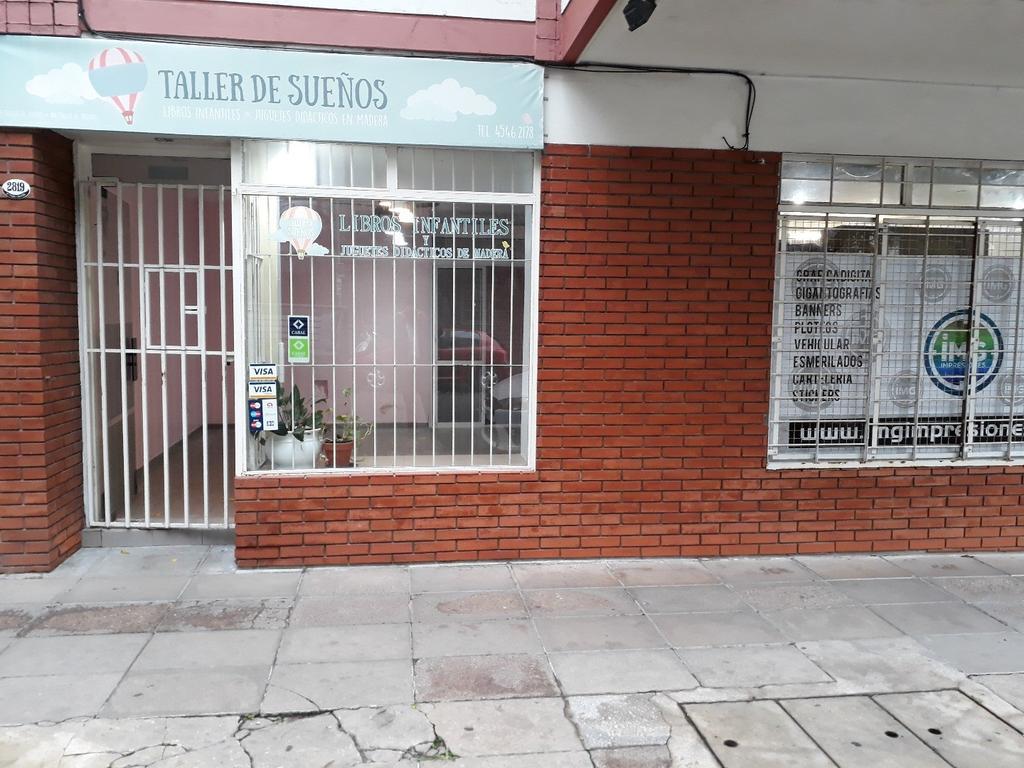 LOCAL A LA CALLE 25 m² - BUENA VIDRIERA - 1 BAÑO