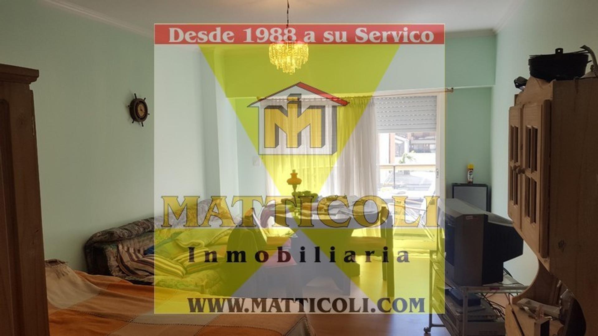 VENTA Monoambiente al Fte con Balcon en Villa Urquiza