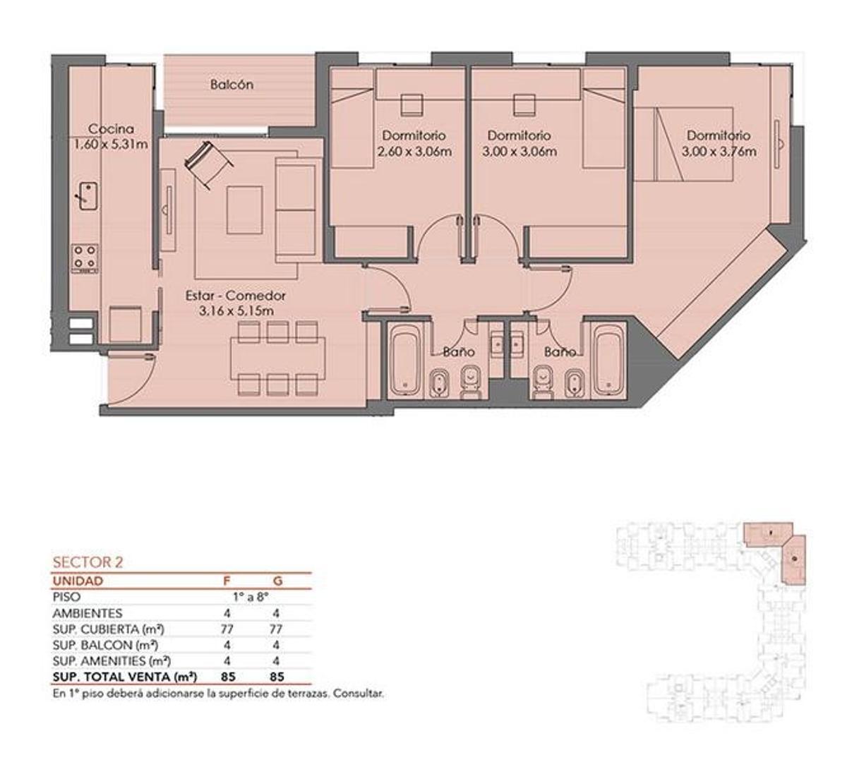 Hermoso departamento de 4 o 5 ambientes en el mejor emprendimiento de Villa del Parque - Foto 24