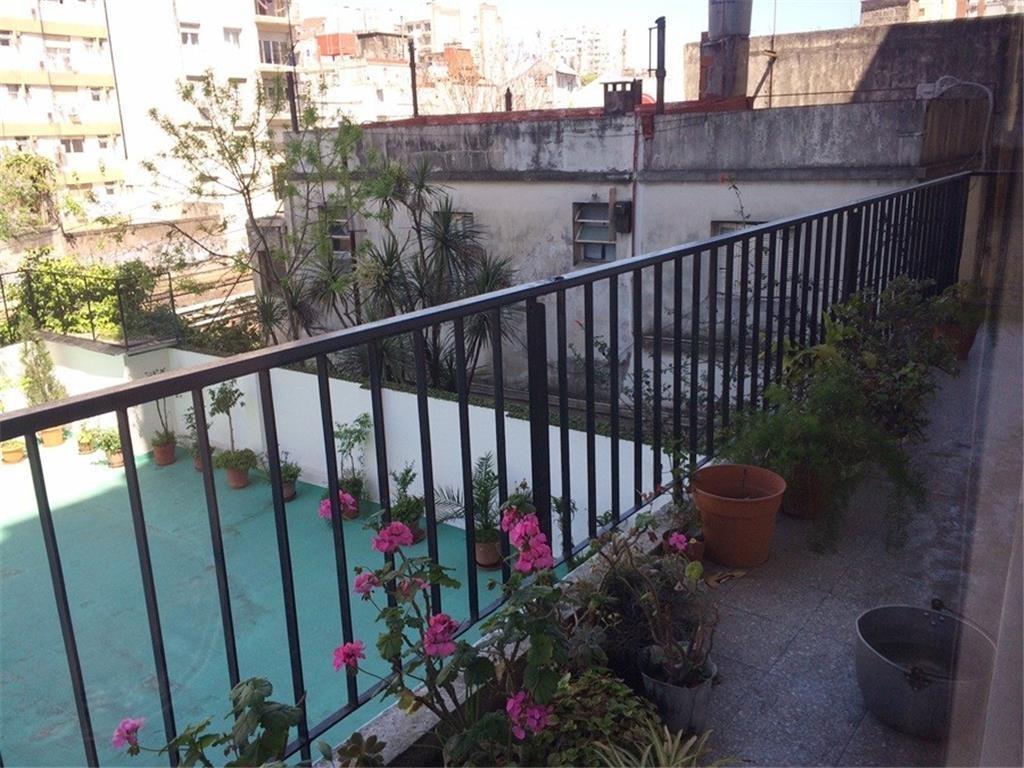 Almagro Venta 4 ambientes con dep cochera fija APTO CREDITO 100 m2 muy luminoso balcon corrido