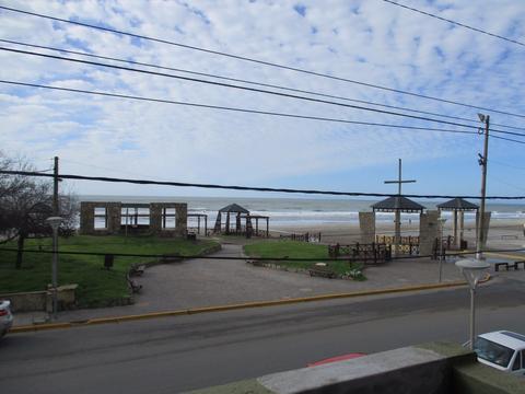 Departamento 2 Ambientes Frente al Mar con Terraza y Parrilla!!!