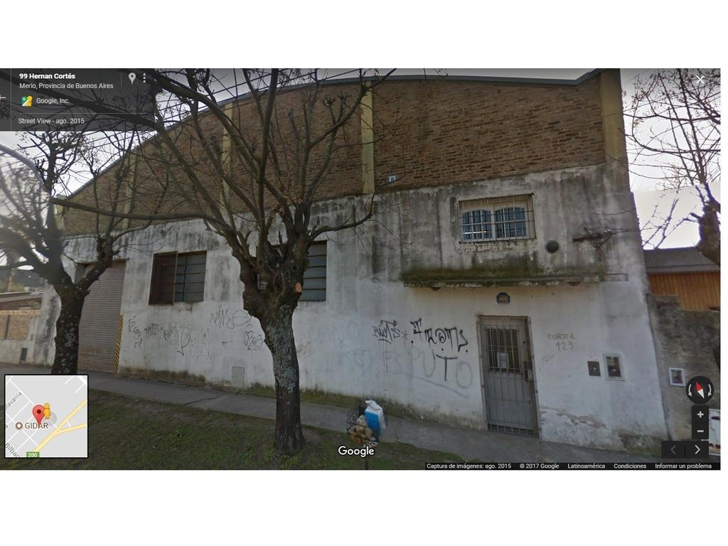 ALQUILER - GALPÓN MERLO ZONA INDUSTRIAL - 590 MTS2 - $35.000