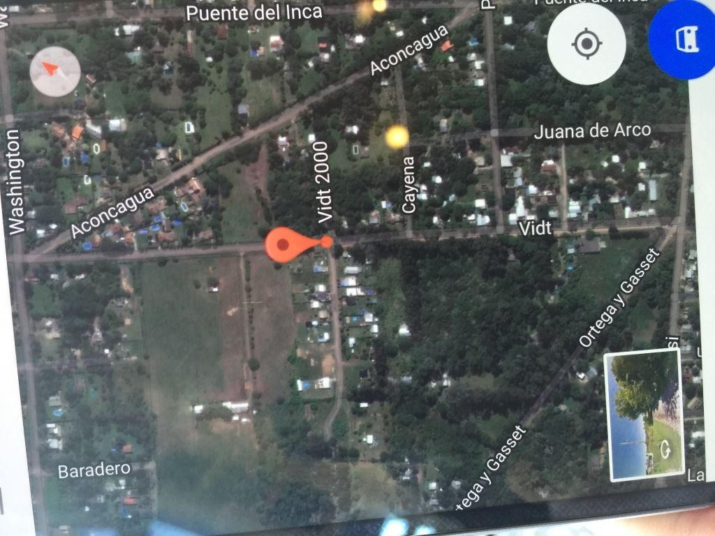 Vendo terreno en Francisco Alvarez