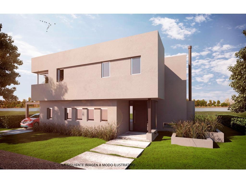 Casa 267m2, 2 plantas y 3 dormitorios en barrio San Rafael, Villa Nueva