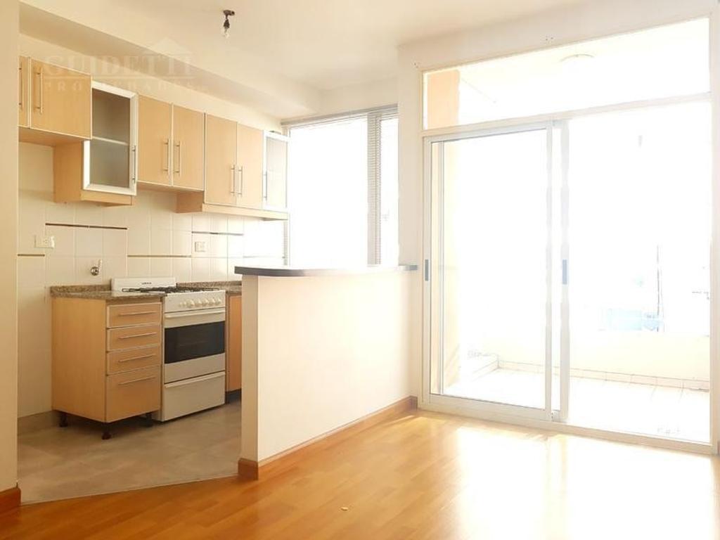 Alquiler departamento 2 ambientes con cochera cubierta en Villa Urquiza
