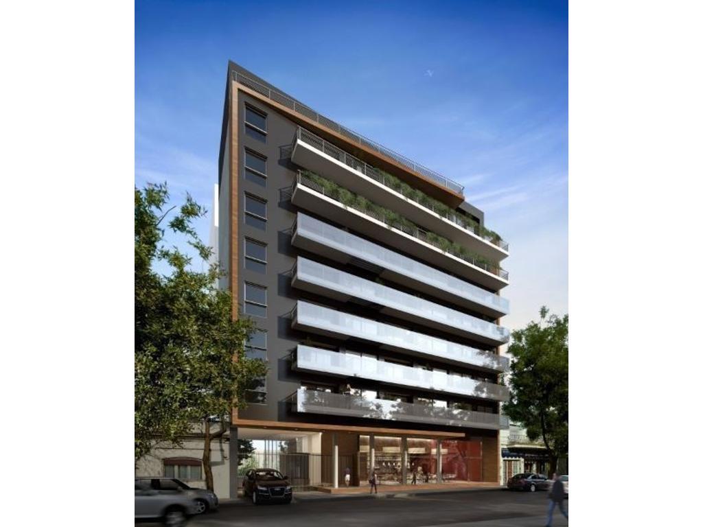 Excelente 2 ambientes a estrenar  en edificio de categoría en pleno palermo hollywood con cochera