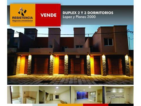 Se Vende: Lopez y Planes al 2100. Duplex 2 dormitorios
