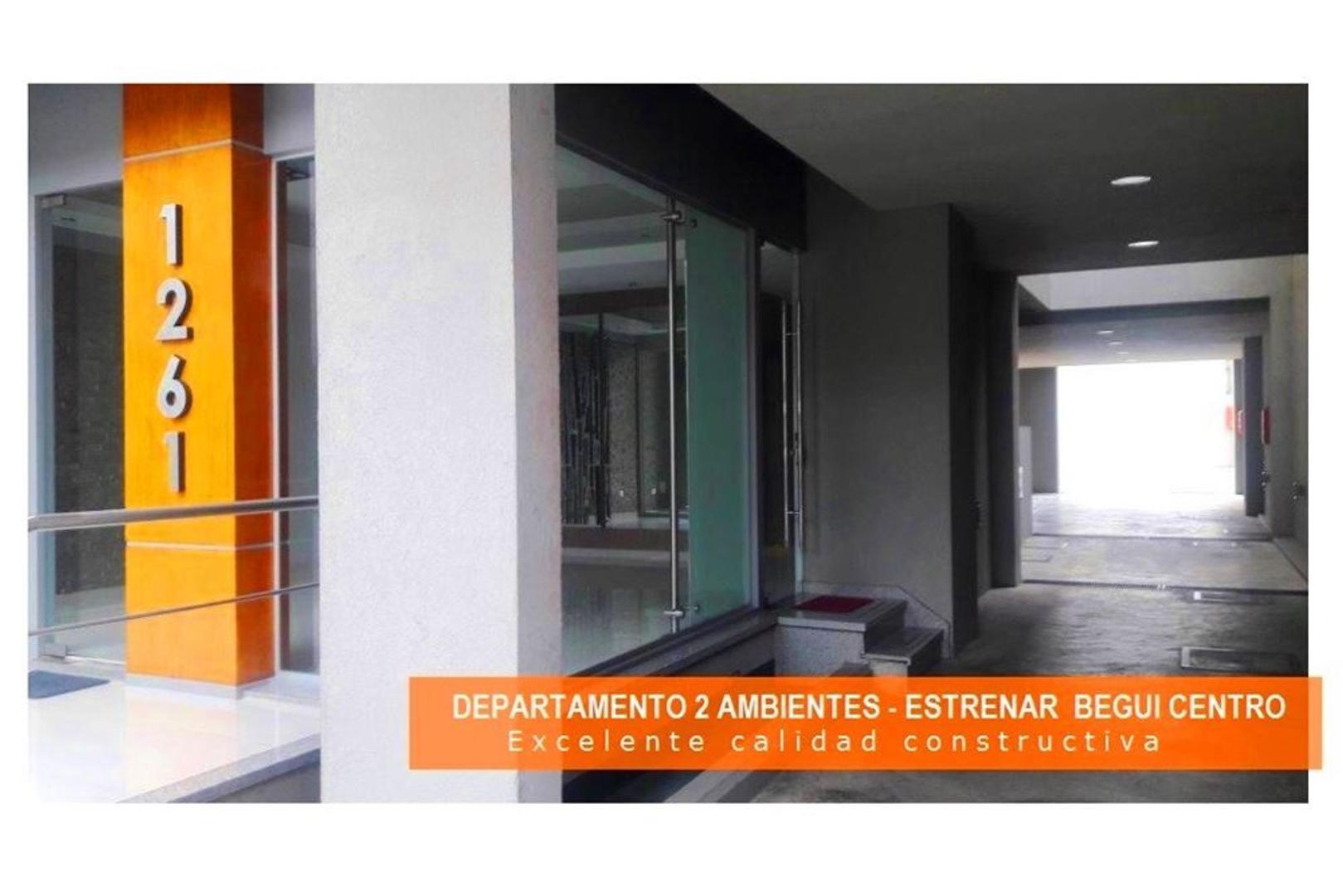 Departamento 2 Ambientes A ESTRENAR en Berazategui