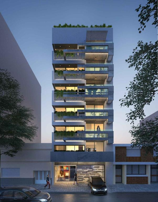 Caracas 400 - Hermoso Piso 4 Amb en Construcción con balcón con parrilla
