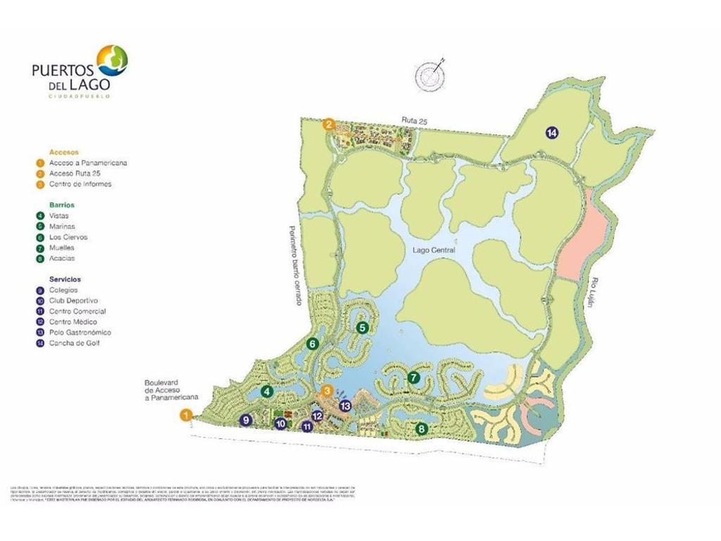 Venta Lote Puertos del Lago- Nordelta II - Acacias