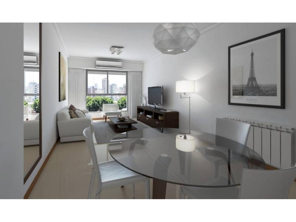 1 Dormitorio con Terraza Exclusiva - Zona Centro