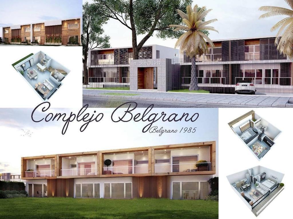 SE VENDE DE POZO DEPTO 2 AMB CON BALCON GRANDE Y COCHERA CUBIERTA EN COMPLEJO BELGRANO, SAN MIGUEL!!