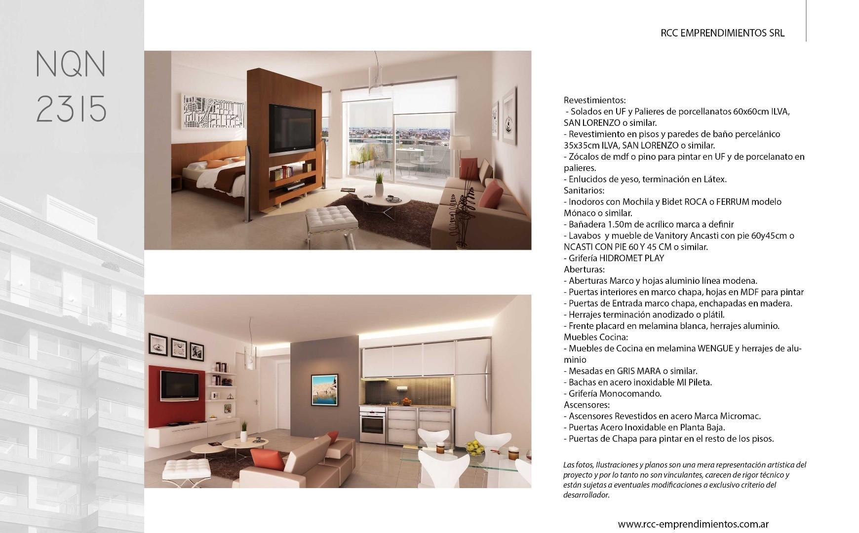 Departamento en Venta de 38,0 m2
