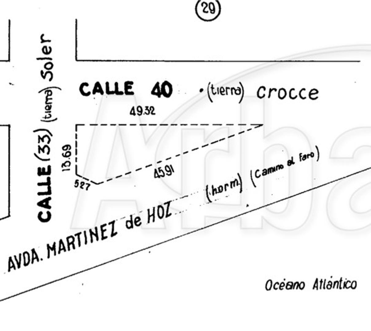 Terreno en Venta en Punta Mogotes