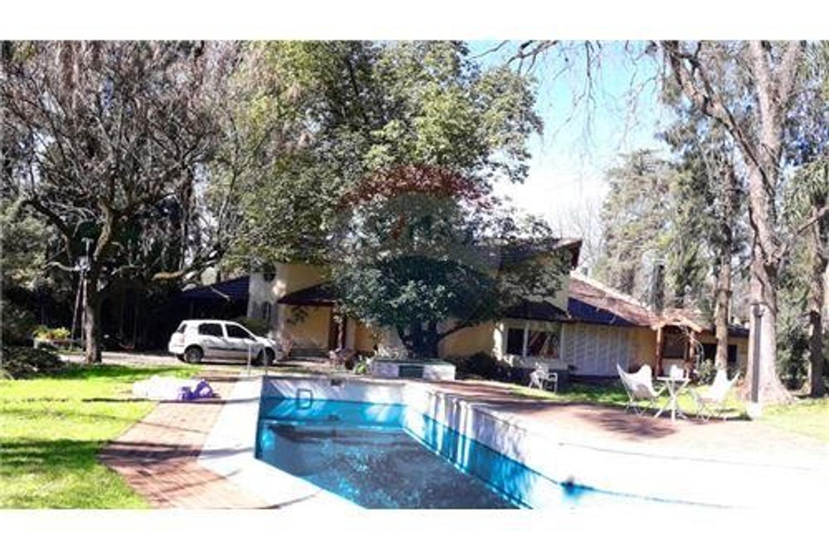 Casa Quinta Lote 5700 m2 Zona Residencial Del Viso