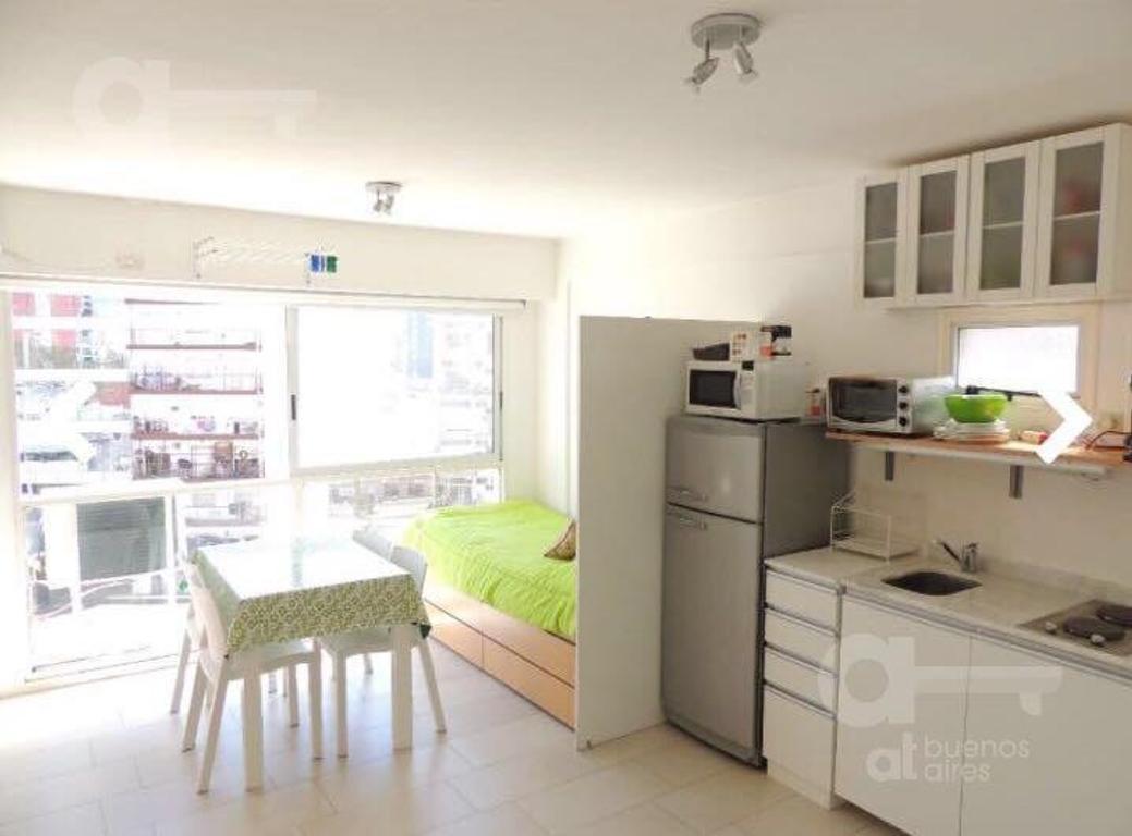 Colegiales. Moderno Loft con amenities. Alquiler temporario sin garantías.