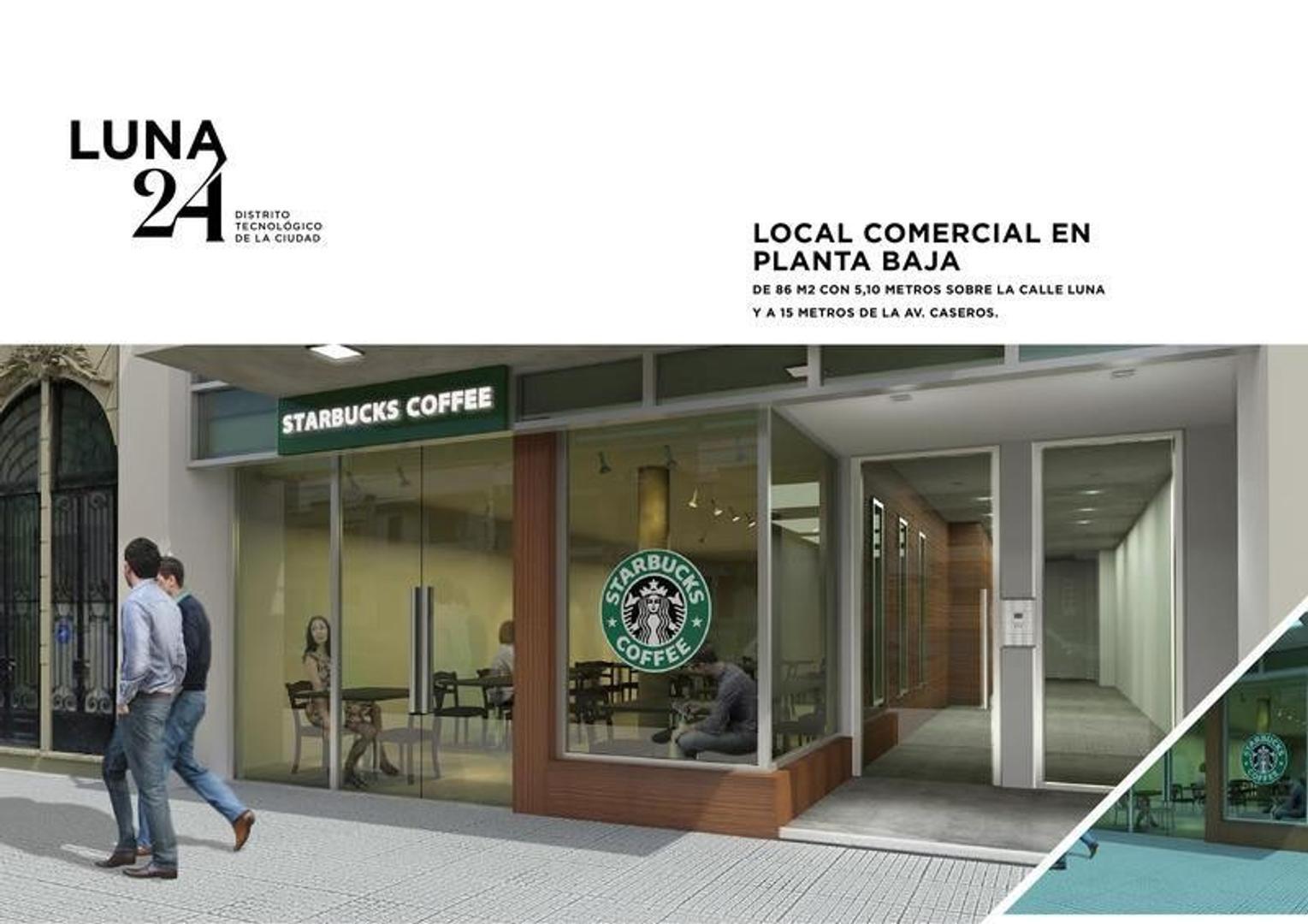 Local, PB en edificio de oficinas, en venta de 86 m2 cubiertos