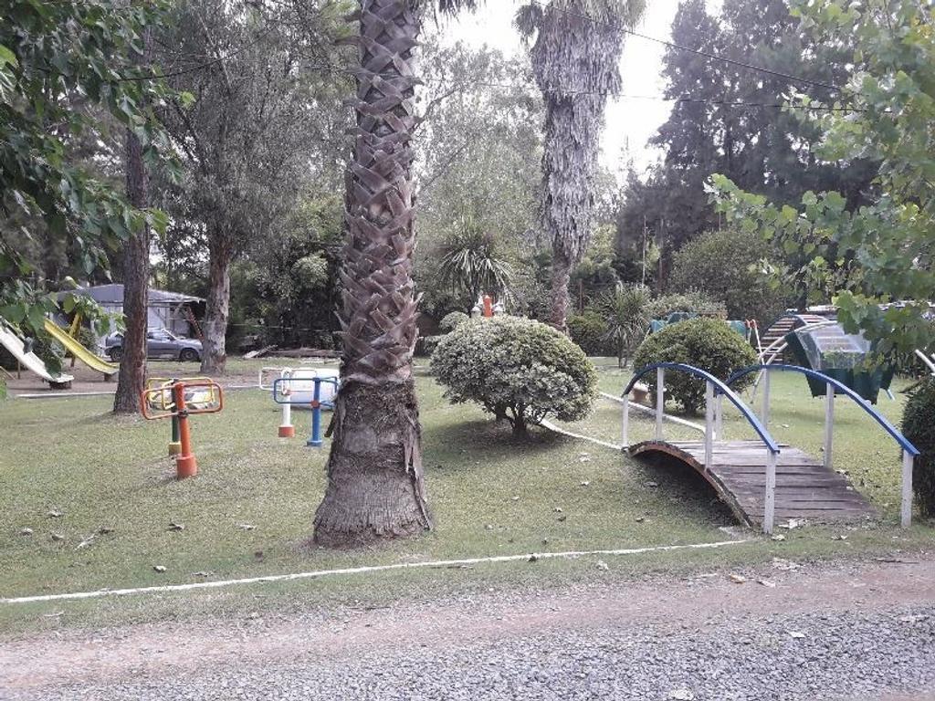 Parcela con Cabaña en Club de Casas Rodantes La Pista en Ing. Maschwitz