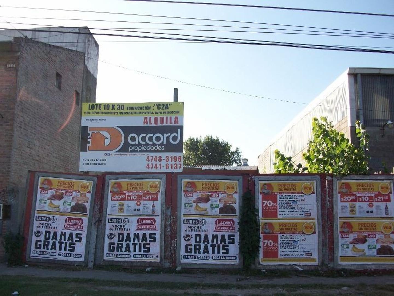 Lote en Alquiler en Don Torcuato