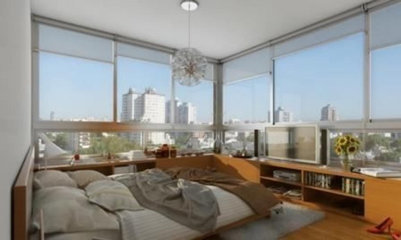 """Emprendimiento """"SOHO CITY"""" en Villa Urquiza, 2 ambientes."""