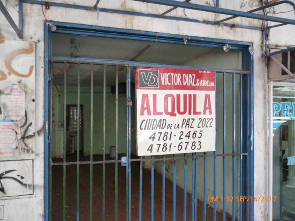ALQUILER DE LOCAL EN ROOSELVELT 2423 BELGRANO SIN EXPENSAS