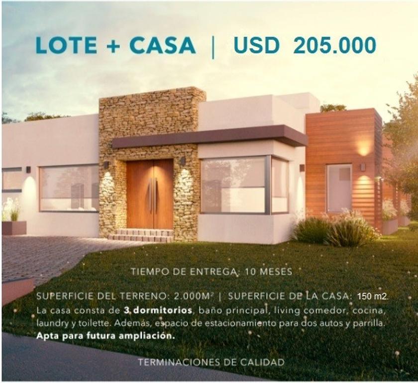 OPORTUNIDAD. Casa en venta a construir. Santa Irene, Comarcas de Luján. Financiación.