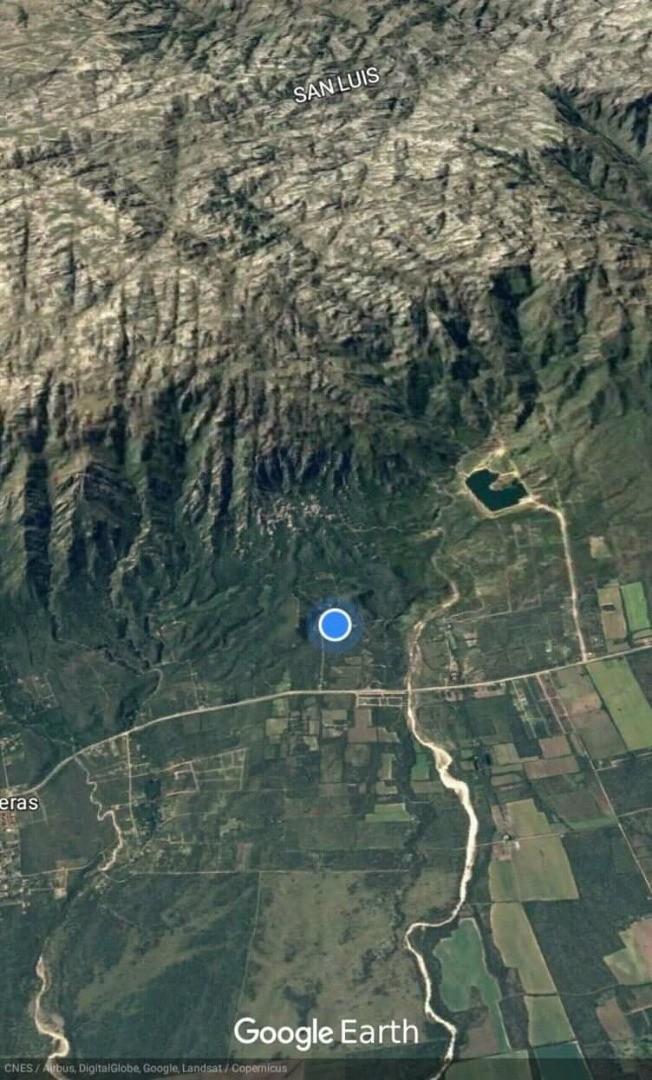 Terrenos panorámicos zona del lago de Merlo