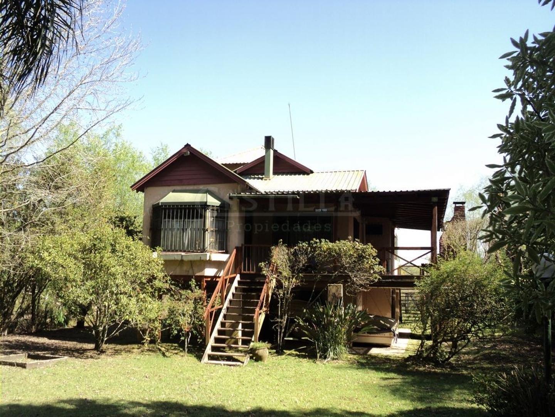Casa sobre Arroyo Abra Vieja en isla de Tigre