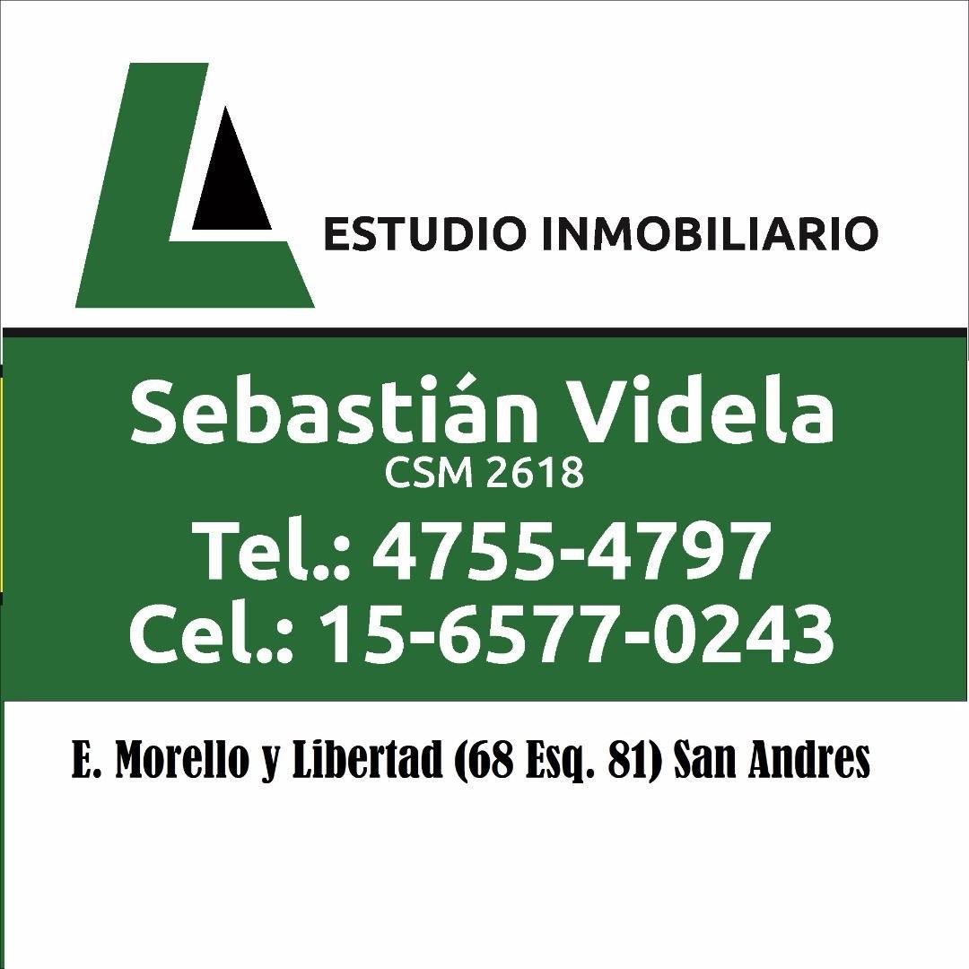 LOTE VILLA BALLESTER 8.66 X 30