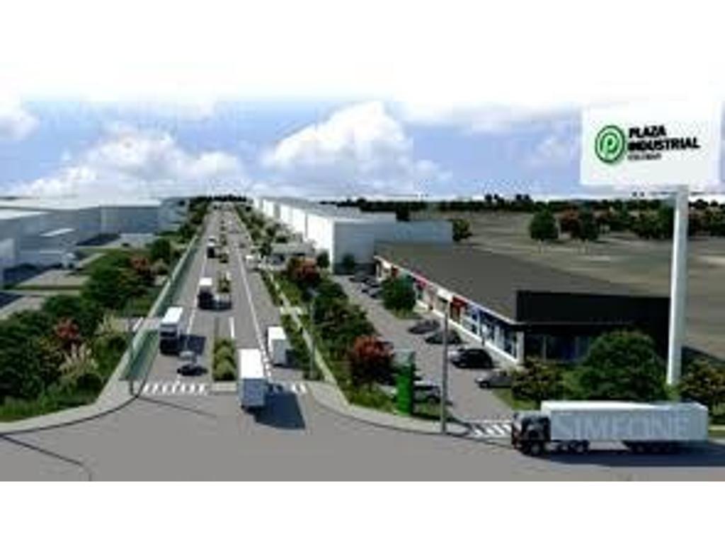 Lotes dentro de Parque Industrial con frente y acceso directo a la Au. Panamericana