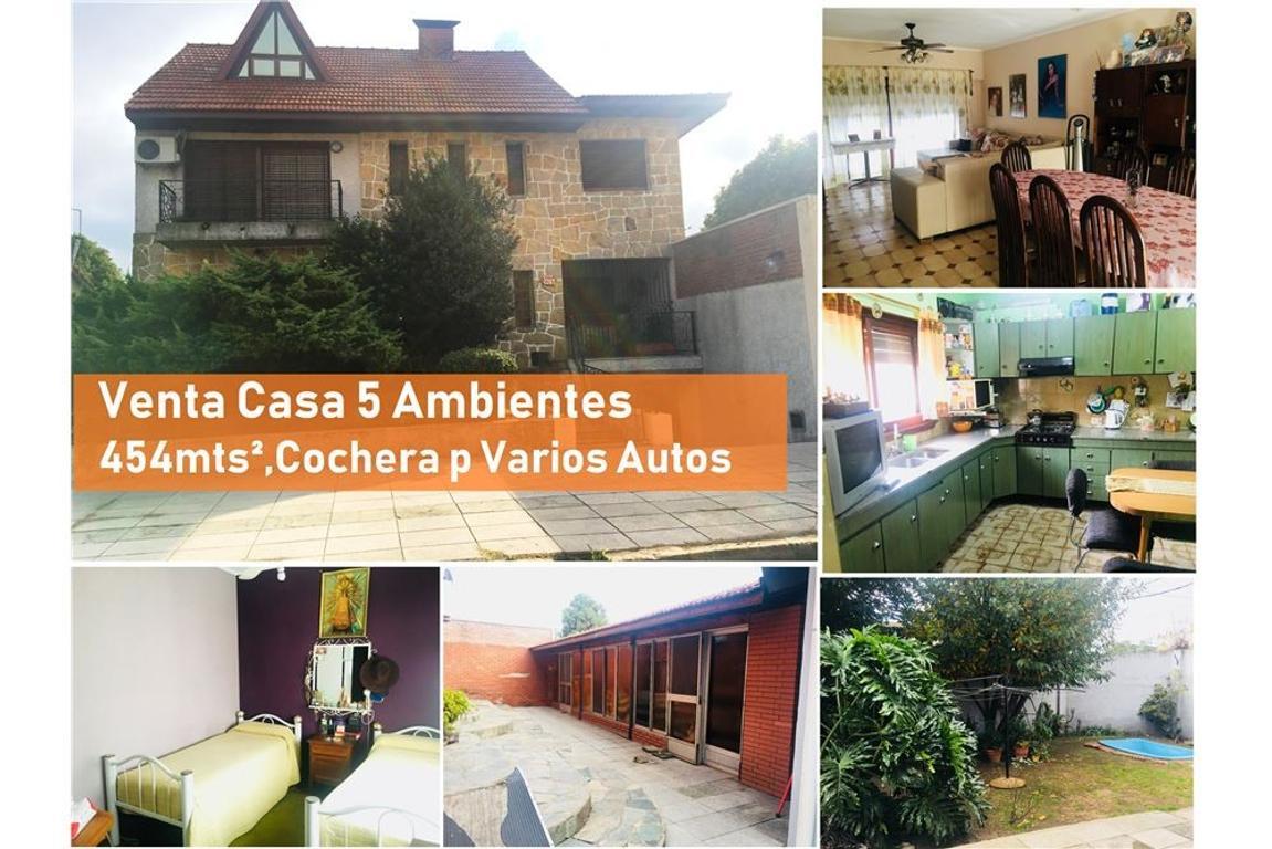 Venta Casa Quilmes 5 Amb Parque Pileta Quincho