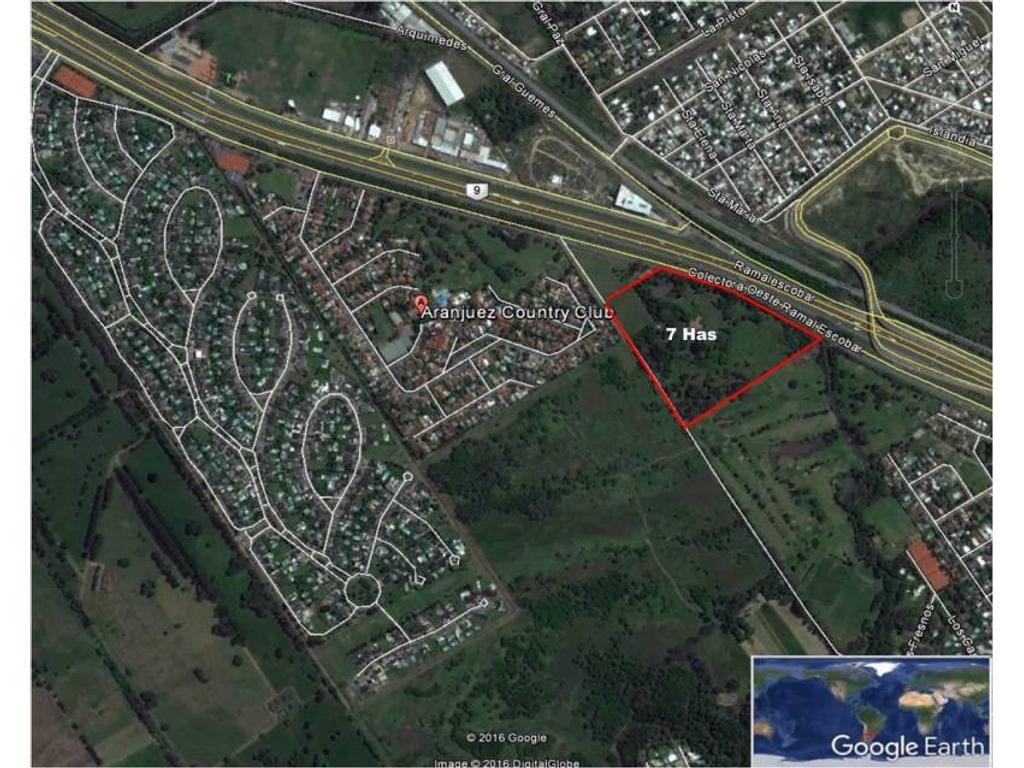 Venta Fracción 7.3 Has Zona Escobar, Maschwitz, Provincia de Buenos Aires
