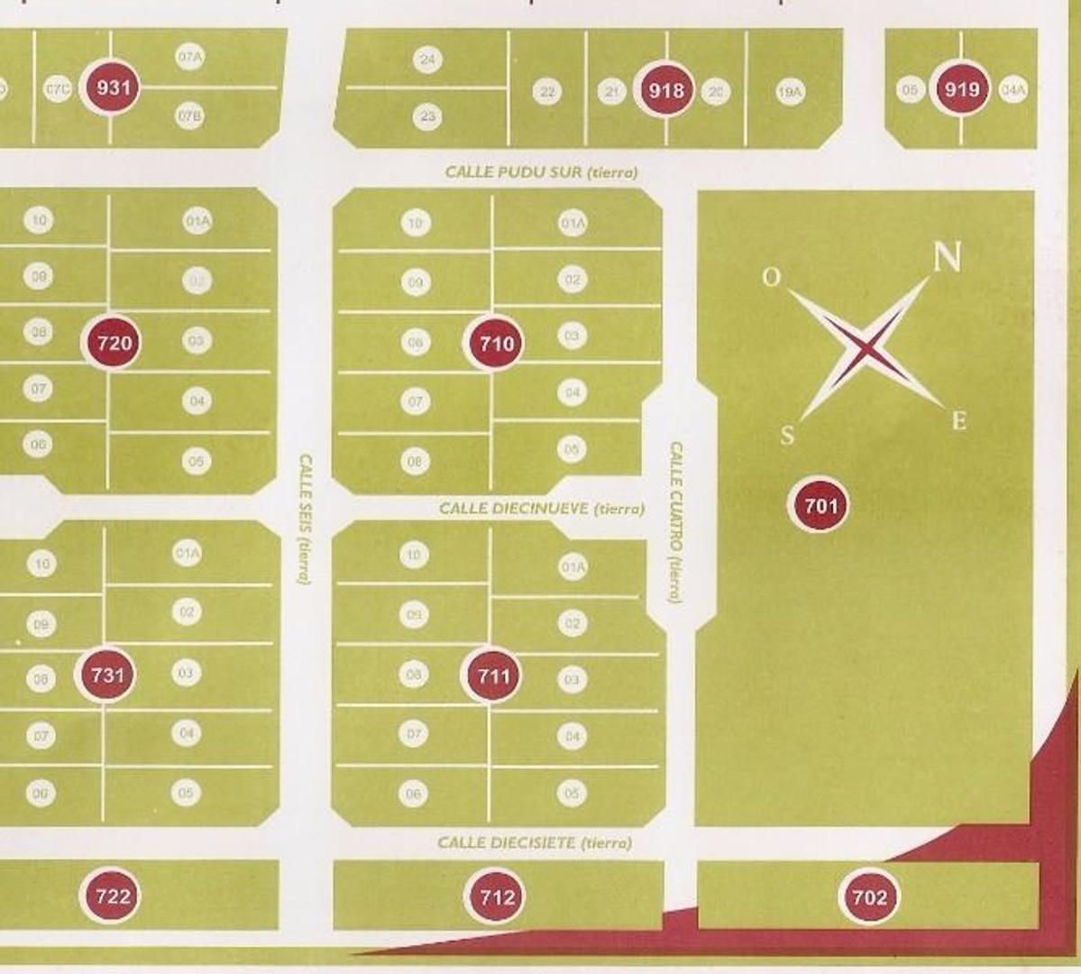 Lotes barrio Los Notros PH con planos parobados sobre lote 463m2