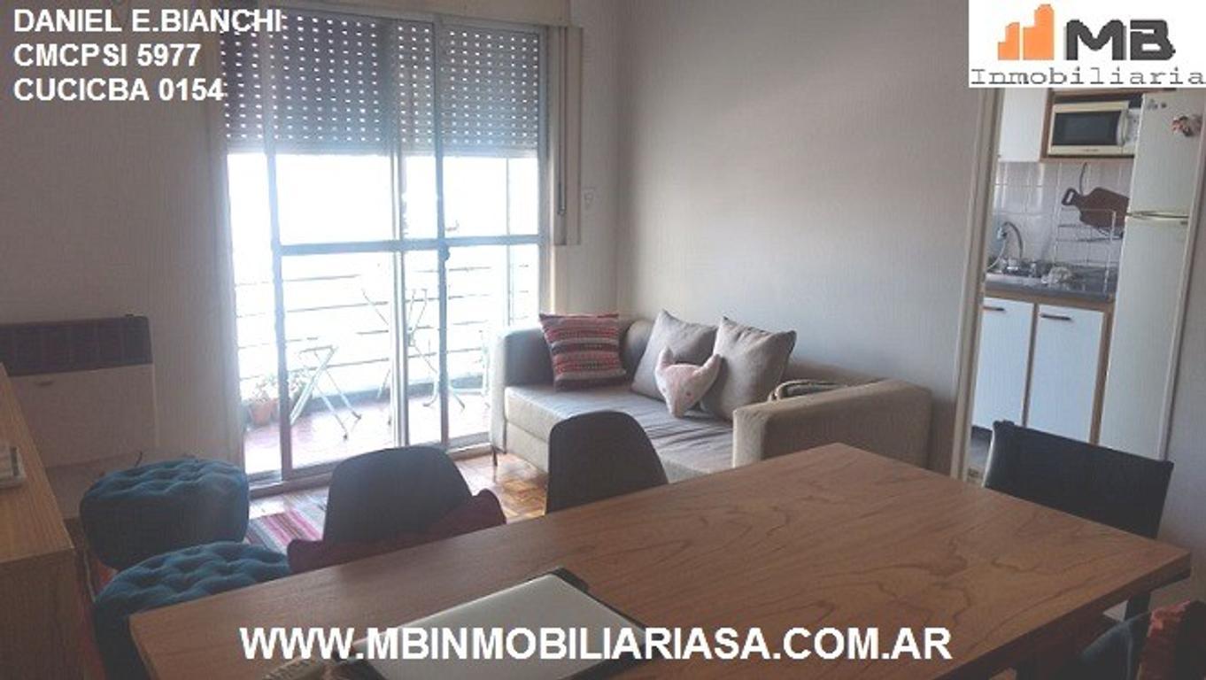 Palermo venta dpto 3 amb.c/balcon en Paraguay al 4800