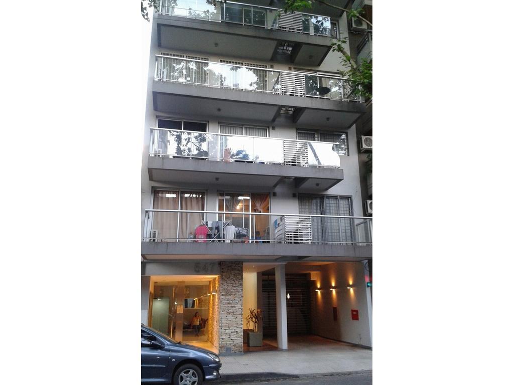 2 ambientes con cochera en edificio con amenities