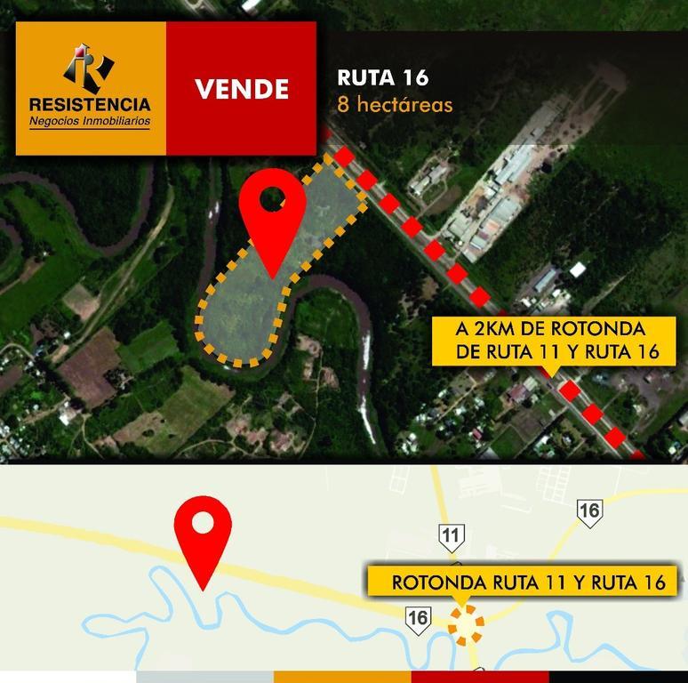 SE VENDEN 8 hectáreas en Ruta 16