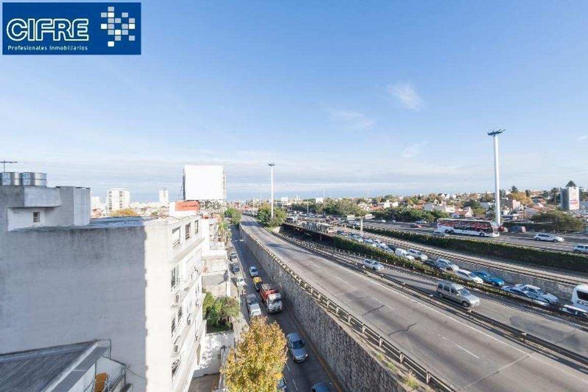 Departamento 3 ambientes cocina separada lav indepte. balcon vista panoram (Suc. urquiza 4521-3333)