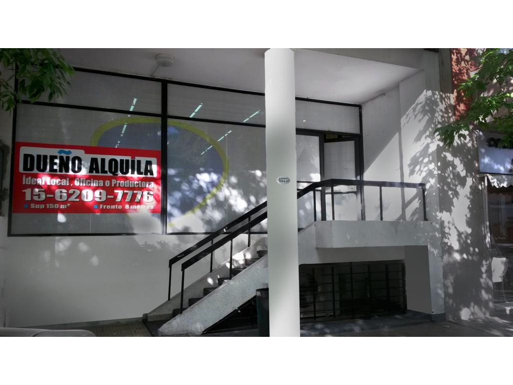Dueño Alquila Local Av. Cordoba 6500 - 300m2 en 2 plantas - Colegiales - Capital