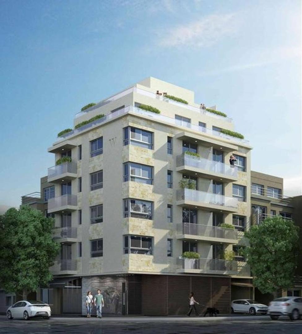A estrenar maravilloso 1 amb  al fte c/ balcón y amenities en edificio ecofriendly