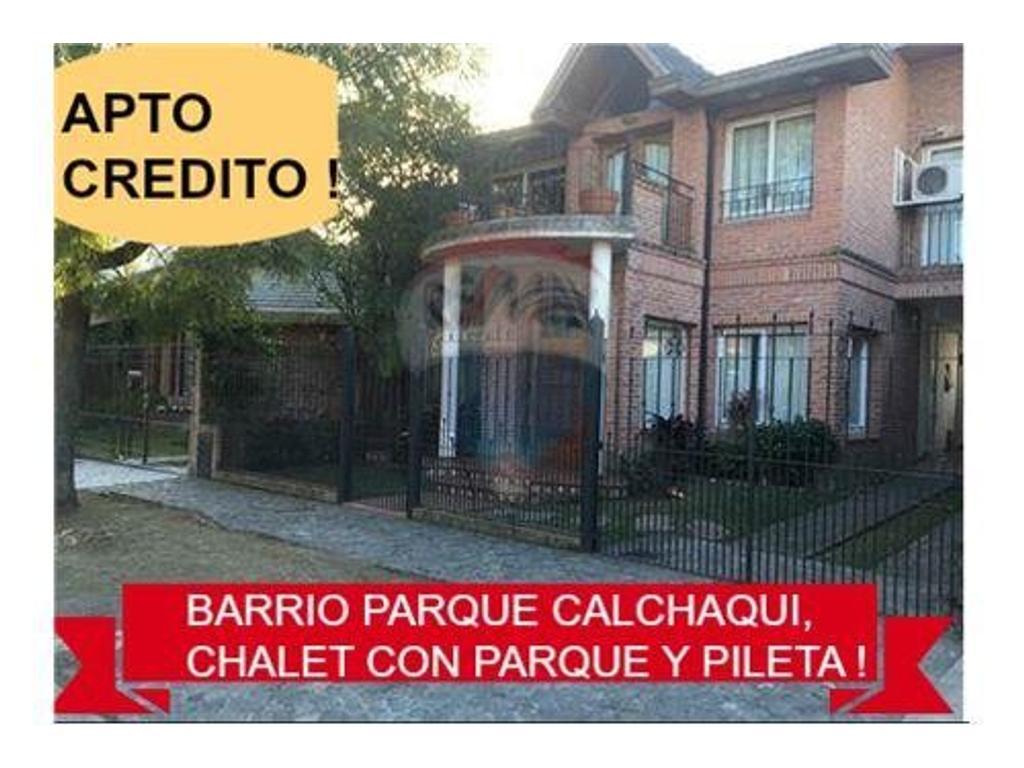 CHALET EN BARRIO PARQUE CALCHAQUI