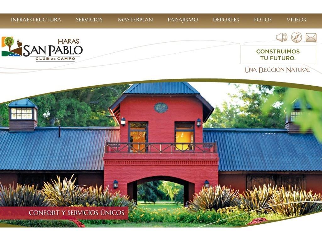 Vendo Lote en HARAS SAN PABLO-Gral Rodriguez-OPORTUNIDAD