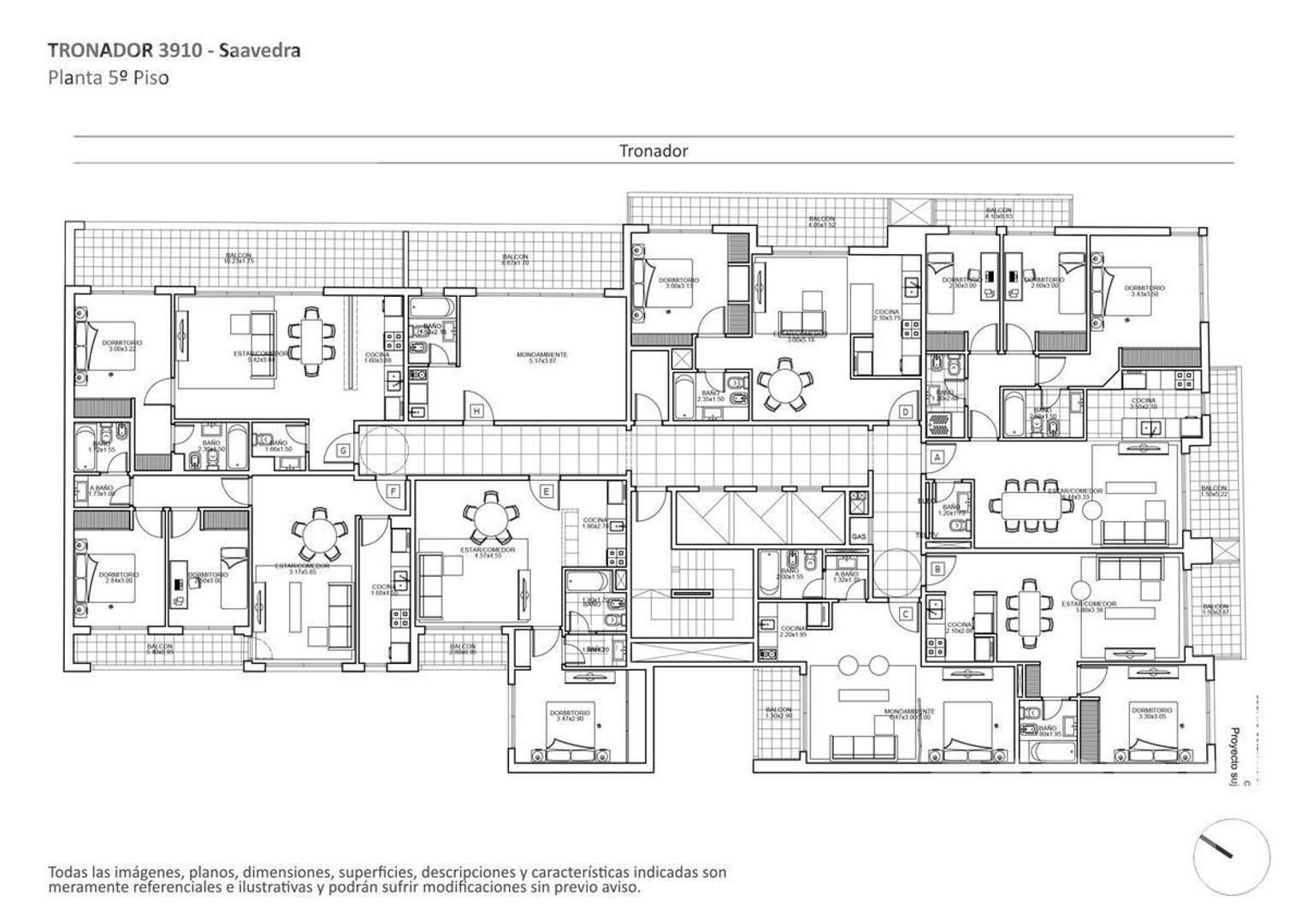 VENTA DEPARTAMENTO DE 2 AMBIENTES EN CONSTRUCCIÓN EN SAAVEDRA - Foto 14