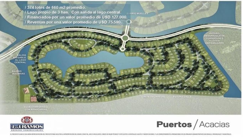 PUERTOS - BARRIO ACACIAS - RAMAL ESCOBAR KM 45 - LOTE 86 - 100
