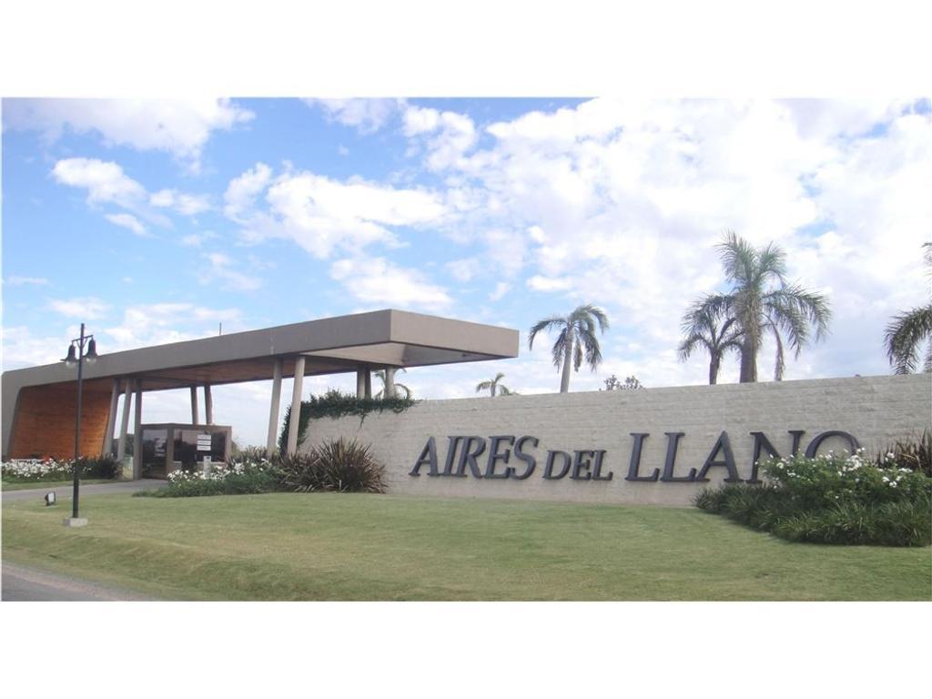 Venta lote Aires del Llano - barrio 6